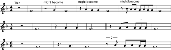Rhythm and Melody in the styles of Arbeau and Playford